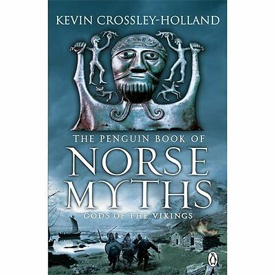 Penguin Book Norse Myths Crossley-Holland Myth legend told as fic. 9780241953211