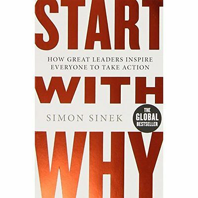 Start with Why Simon Sinek Penguin Books Ltd PB / 9780241958223