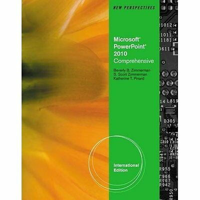 New Perspectives on Ms Office Powerpoint 2010 Comprehensive South. 9780538470513