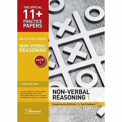 11+ Practice Papers Non-verbal Reasoning Pack 1 Multiple Choice 3e 9780708719862