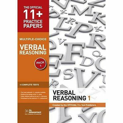 11+ Practice Papers Verbal Reasoning Pack 1 Multiple Choice 3e GL. 9780708719879