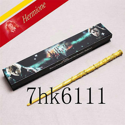 Harry Potter Characters Magical Wand Brand New in Box Cosplay Hermione Granger