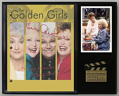 """The Golden Girls  Ltd Edition Reproduction Television Script Display """"c3"""""""