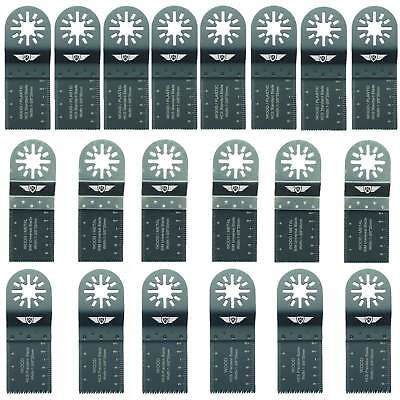 20 x Mix Blades for Fein Multimaster Bosch Ryobi Challenge Multitool Multi Tool