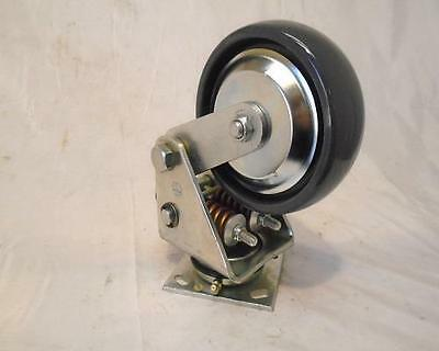 """6"""" x 2"""" Spring Loaded Caster Darcor #31-SL406-PSE 1000 Lbs Tool Box"""