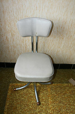 Ancien fauteuil industriel 60'  old metal former industrial chair