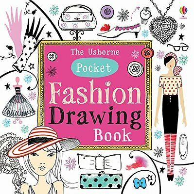 Pocket Fashion Drawing Book Watt  Fiona 9781409581703