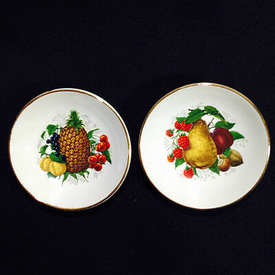2 Gorgeous Vintage Falcon Ware Small Jam Dishes Made in England