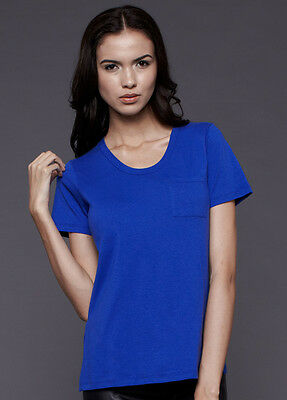 NEW - Dote - Pocket Nursing Tee in Blue | Breastfeeding Tops