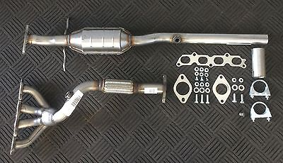 Ford Focus 1.6 Mk.1 98-04 CATALYTIC CONVERTER + EXHAUST MANIFOLD PIPE + FITTINGS