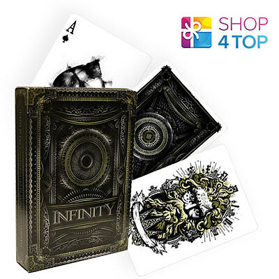 ELLUSIONIST INFINITY 2nd EDITION BICYCLE PLAYING CARDS DECK MAGIC TRICKS USPCC