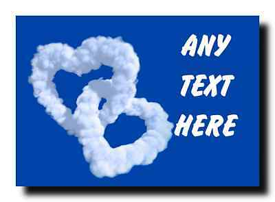 Love Cloud Personalised Jumbo Magnet