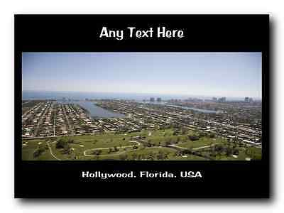Hollywood, Florida Personalised Placemat