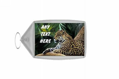 Jaguar Personalised Keyring