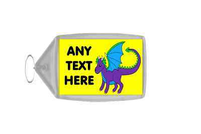 Dragon Personalised Keyring