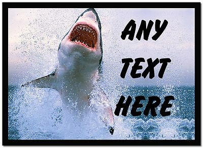 Shark Personalised Dinner Table Placemat