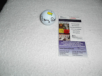 Tommy Aaron Hand Signed Titleist Masters Golf Ball JSA #N49094 Autograph PGA