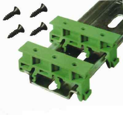 Simple PCB Circuit Board  99 UK Bracket For Mounting DIN Rail Mounting