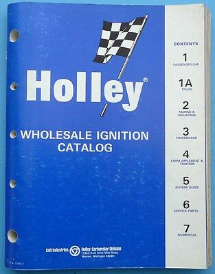 1969 Holley Wholesale Ignition Catalog