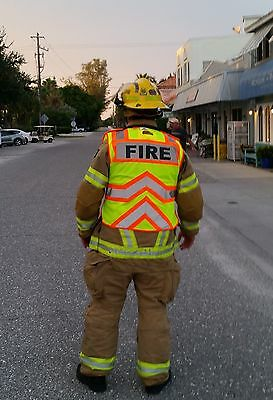 ULTRA BRIGHT ( FIREFIGHTER / EMS ) Class II Safety Vest (ANSI / ISEA 107-2010)
