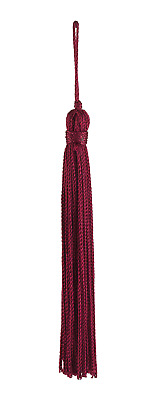 "Ruby Red 4"" Chainette Tassels Rosewood Passion [Set of 10]"