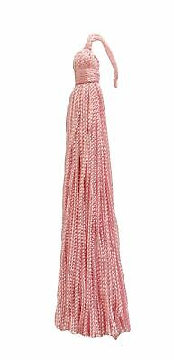 "Blush Pink 4"" Chainette Tassels Blushing Bride [Set of 10]"