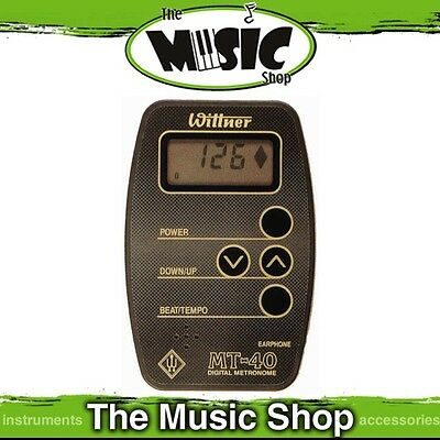 New Wittner Pocket Size Digital Metronome with LCD Display - MT40