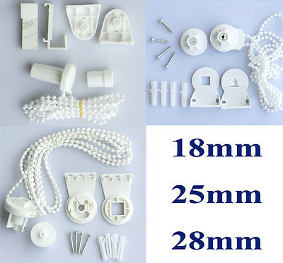 Roller Blind Shade Cluth Bracket Cord Chain Repair 18mm/25mm/28mm