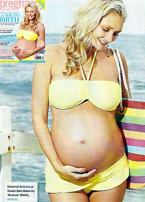 NEW - Maternal America - Rachael Yellow Bikini - Maternity Swimsuit