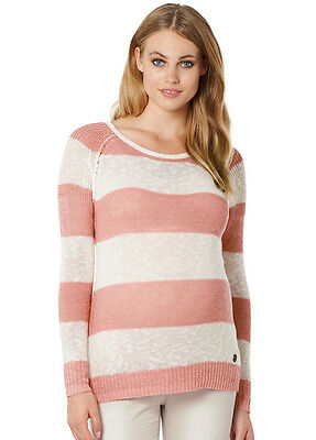 NEW - Noppies - Jacy Knit Jumper in Pink Stripes - Maternity Jumper