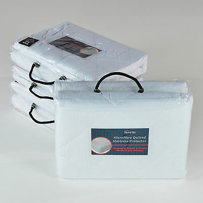 Extra Deep Mattress & Pillow Protectors - Luxury Quilted, Fully Fitted Cover