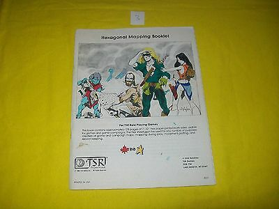 Hexagonal Mapping Booklet Dungeons & Dragons Tsr 8007 3