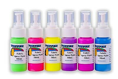 Tintex Fabric Spray Paint Packs (3x50ml and 6x50ml)