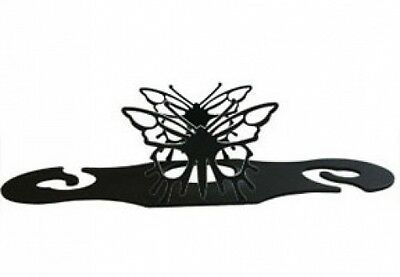 Village Wrought Iron WRC-38 Butterfly Wine Caddy. Delivery is Free