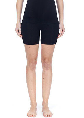 NEW - Noppies - Seamless Long Shorts in Black - Maternity Underwear