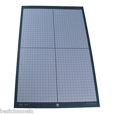 A3 Non Slip Vinyl Cutter Plotter Cutting Mat with Craft Sticky Printed Grid