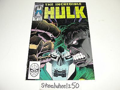 Incredible Hulk #350 Comic Marvel 1988 Vs Thing Direct Peter David Jeff Purves