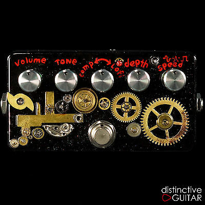 New Zvex Effects Hand Painted Instant Lo Fi Junky - Custom Steampunk Design Wow!