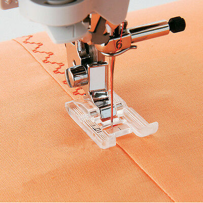 Goody Invisible Stitcher Sewing Foot For Brother Janome Machine Singer Domestic