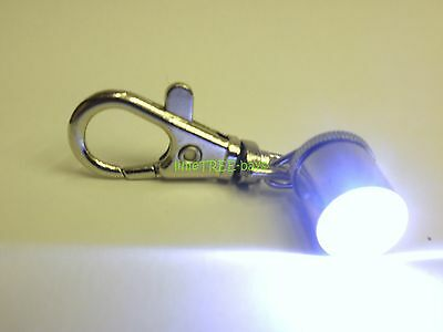 LED Dog tag FLASHING PET LIGHT SAFETY NIGHT blinker FOR COLLAR cat Neon torch