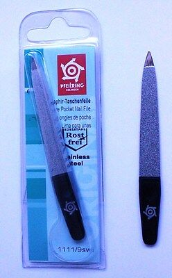 Pfeilring 1111 9SWi Sapphire Matt Black Nail File 90mm - Made in Germany