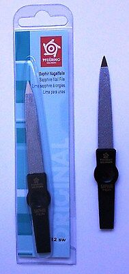Pfeilring 1202/12SW Sapphire Black Nail File 120mm - Made in Germany