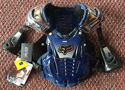 Fox Racing Airframe Chest Protector Blue Size Small