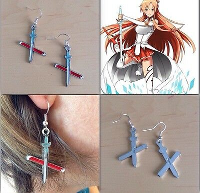 Sword Art Online Asuna Sword Earrings