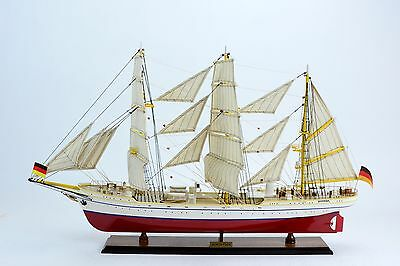 "Gorch Fock 36"" - Handmade Wooden Tall Ship Model"