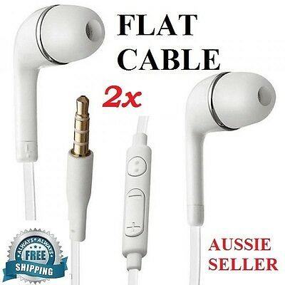 2x GENUINE Handsfree Earphone for Samsung Galaxy S9 S8 Plus S7 S6 Edge S5 Note 5