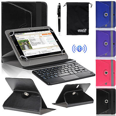 EEEKit for 8 Inch Tablet,Wireless Bluetooth Keyboard W/ Touchpad+Cover Case