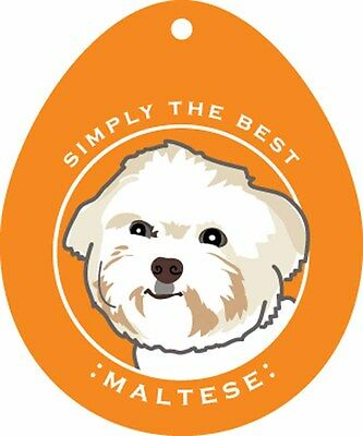 Maltese Sticker 4×4″