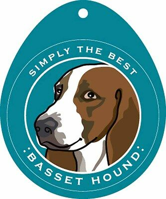 Basset Hound Sticker 4×4″