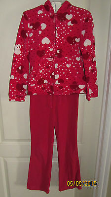 Youth Girls M 7/8 The Children's Place Outfit Sweats Full Zip Jacket Top Pants